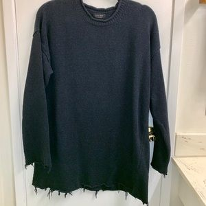 ZARA man long length knit